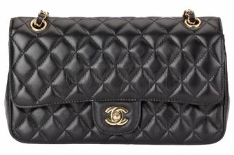 CHANEL Flap Bag Classic женская сумка gold 316