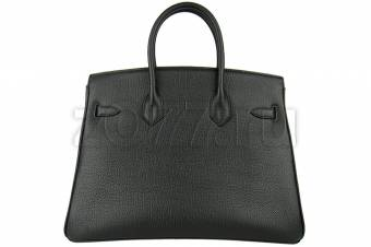 Hermes Birkin 35 Black with gold сумка 228