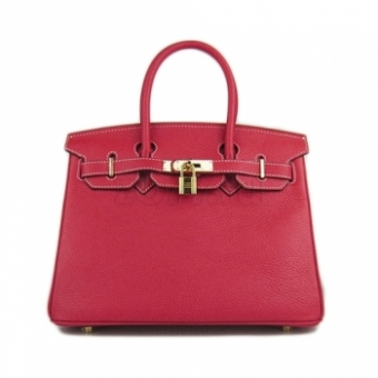Hermes Birkin 30 Red сумка 189