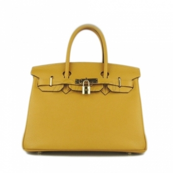 Hermes Birkin 30 Yellow сумка 183