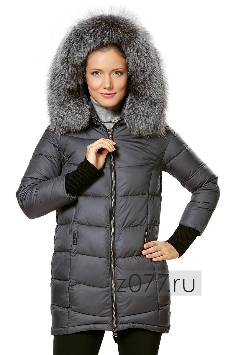 9ef6ec2cf84 CHANEVIA куртка женская 16802 графит купить в Москве