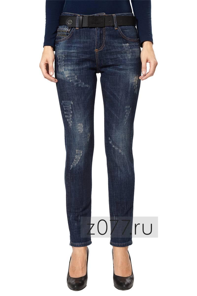 15e5952967f PHILIPP PLEIN джинсы женские 12894 темно-синие купить в Москве