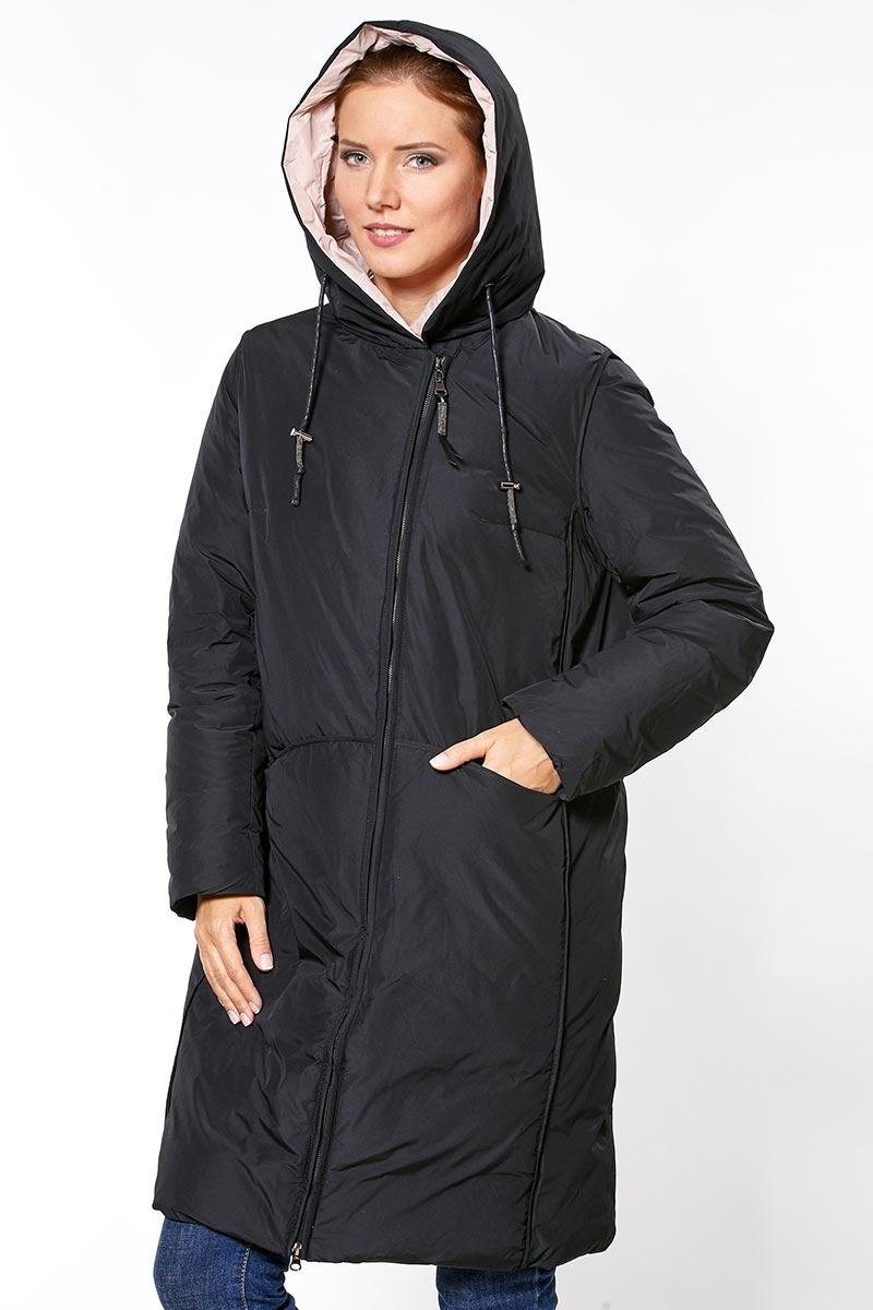 36cebd60f8a YFirenix пальто женское черное купить в Москве