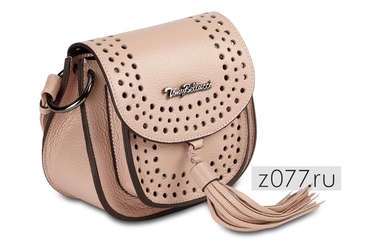 розовая женская сумка
