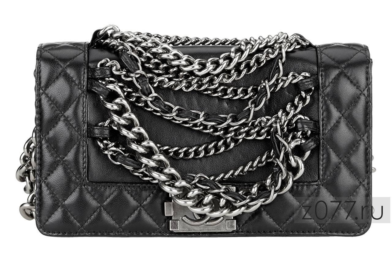 Черная сумка Шанель