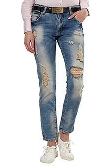 Женские джинсы с высокой талией