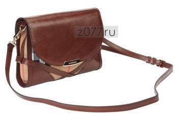 Сумка женская BURBERRY коричневая купить в Москве, цена 8 900 руб ... a57450eee26