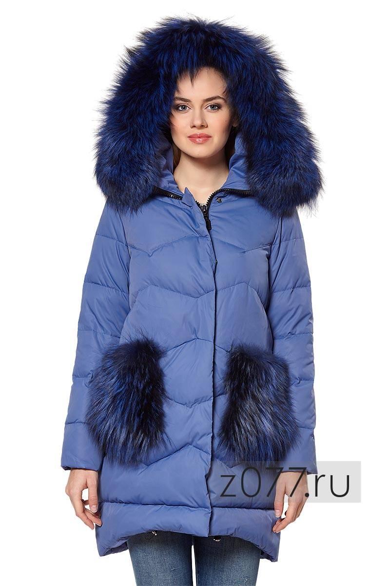 Пуховик женский голубой купить в Москве 1332ee2a26c3a