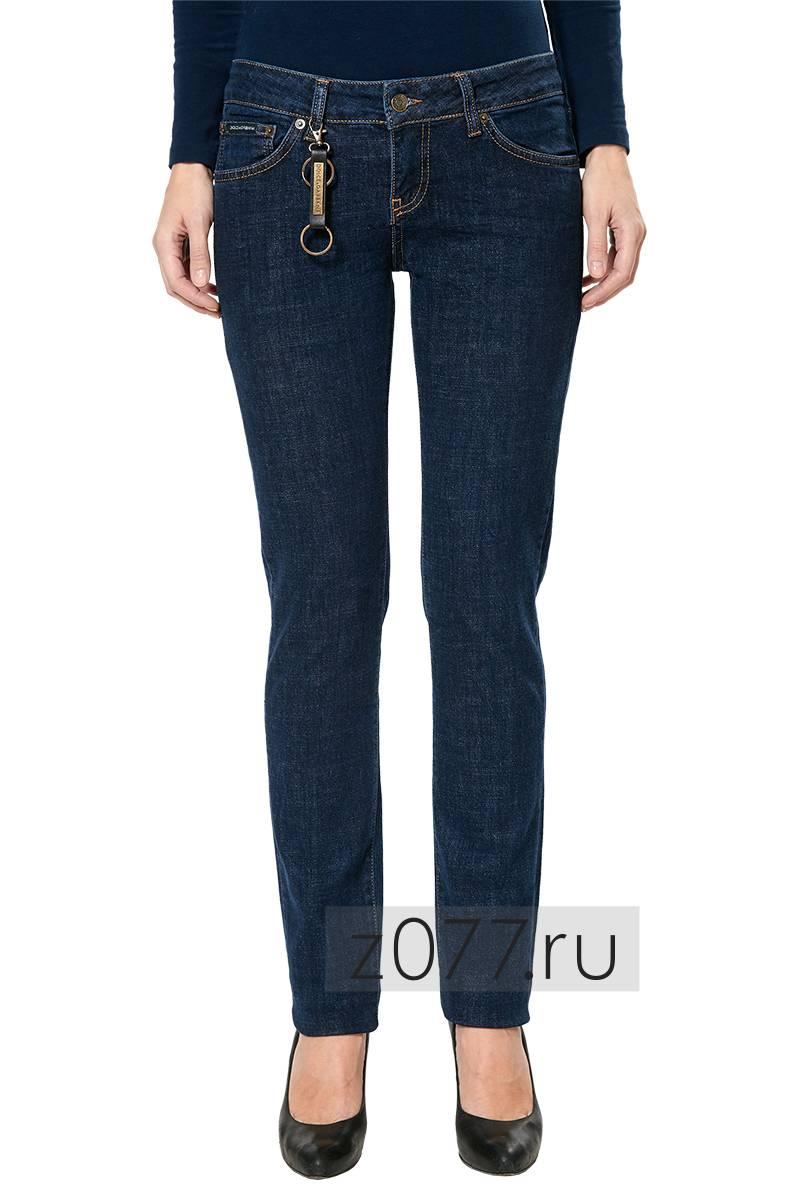 6d95b4cec17 DOLCE   GABBANA джинсы женские 13024 темно-синие купить в Москве ...