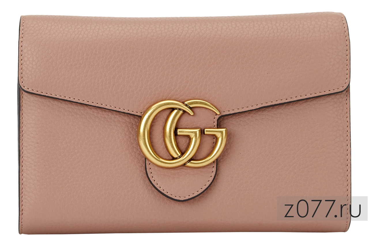 женская сумочка пудрового цвета