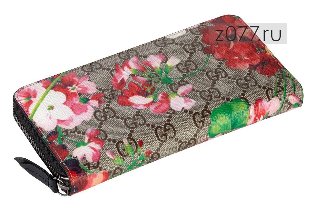 c0141f2500c5 GUCCI женский кошелек 323397 черный купить в Москве, цена 3 850 руб ...