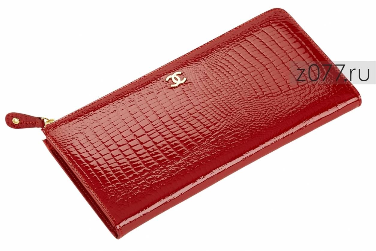 CHANEL женский кошелек-клатч 523 красный купить в Москве, цена 3 550 ... 6ad0d1c081f