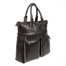 Бизнес-сумка Gianni Conti 1752258 black grey