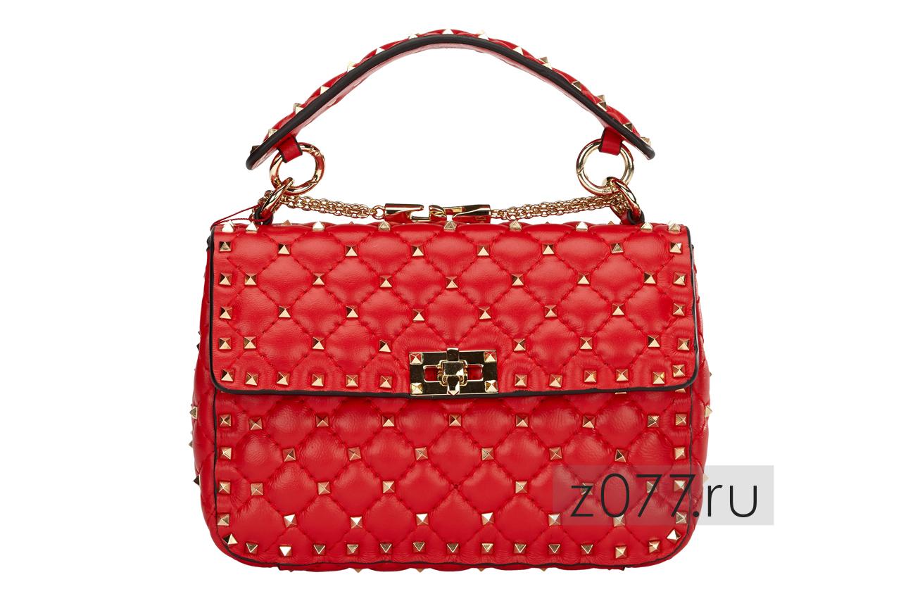 яркая женская сумка