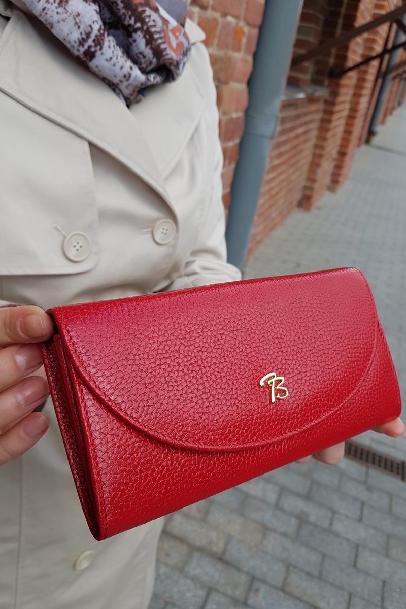 Красный кошелёк Tony Bellucci