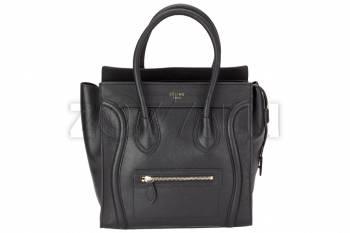 Celine luggage женская сумка 309 черная tulle tulip куртка белая