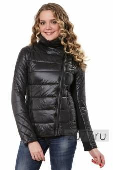 Черная куртка на весну