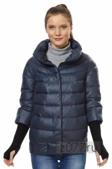 короткая женская зимняя куртка