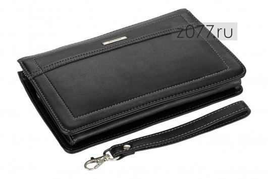 2df0f5e58fc8 ROCKFELD клатч-барсетка мужская черная купить в Москве, цена 4 750 ...