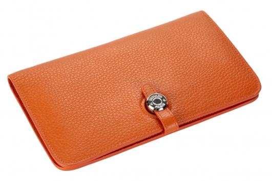 4231d47bcd43 Hermes Dogon Wallet кошелек 252 оранжевый купить в Москве, цена 3 ...
